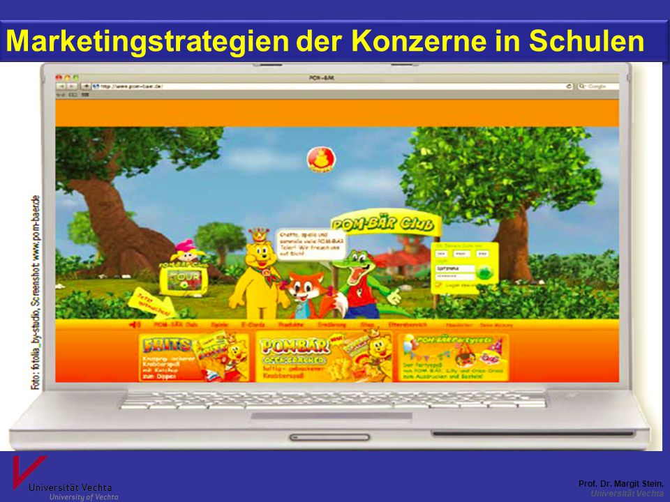 Marketingstrategien der Konzerne in Schulen