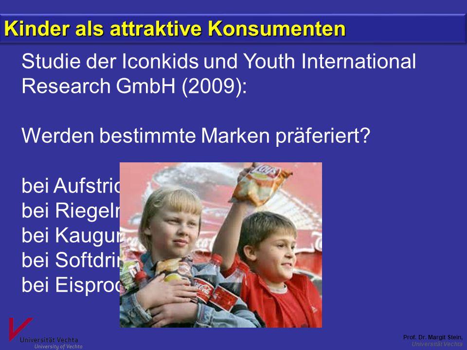 Kinder als attraktive Konsumenten