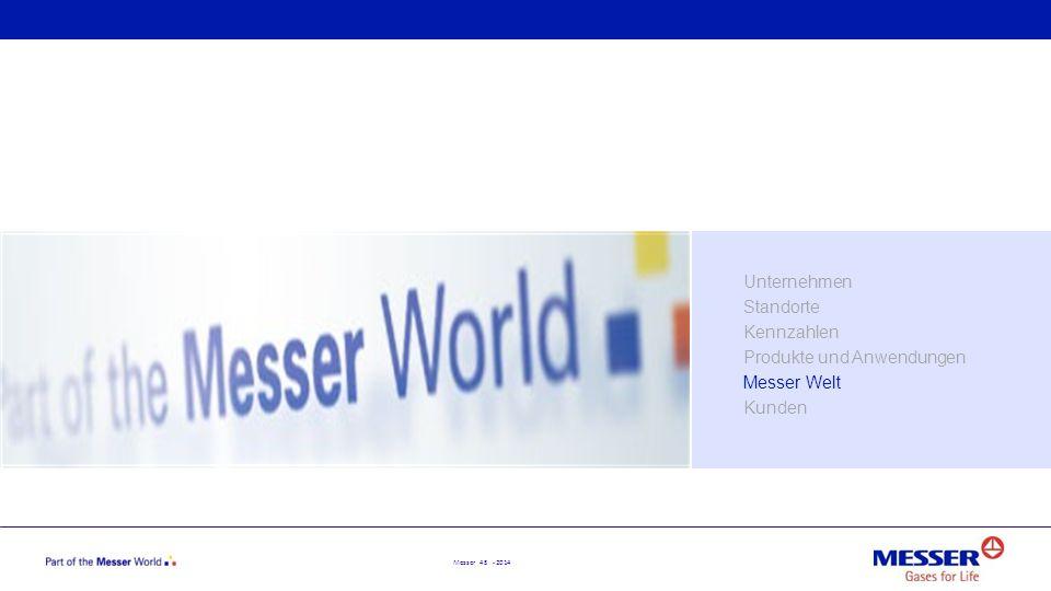 Unternehmen Standorte Kennzahlen Produkte und Anwendungen Messer Welt Kunden