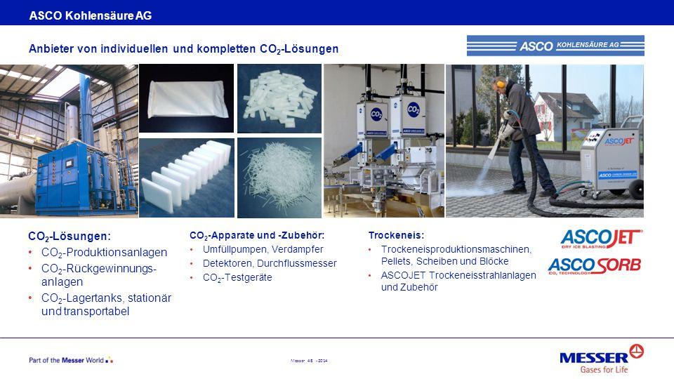 Anbieter von individuellen und kompletten CO2-Lösungen
