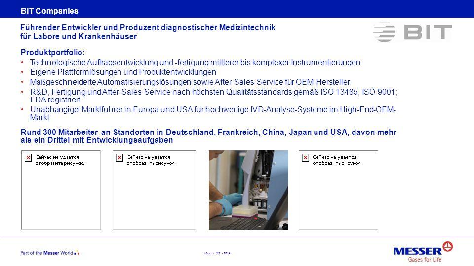 BIT Companies Führender Entwickler und Produzent diagnostischer Medizintechnik für Labore und Krankenhäuser.