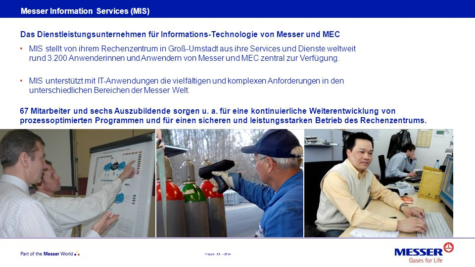 Messer Information Services (MIS)