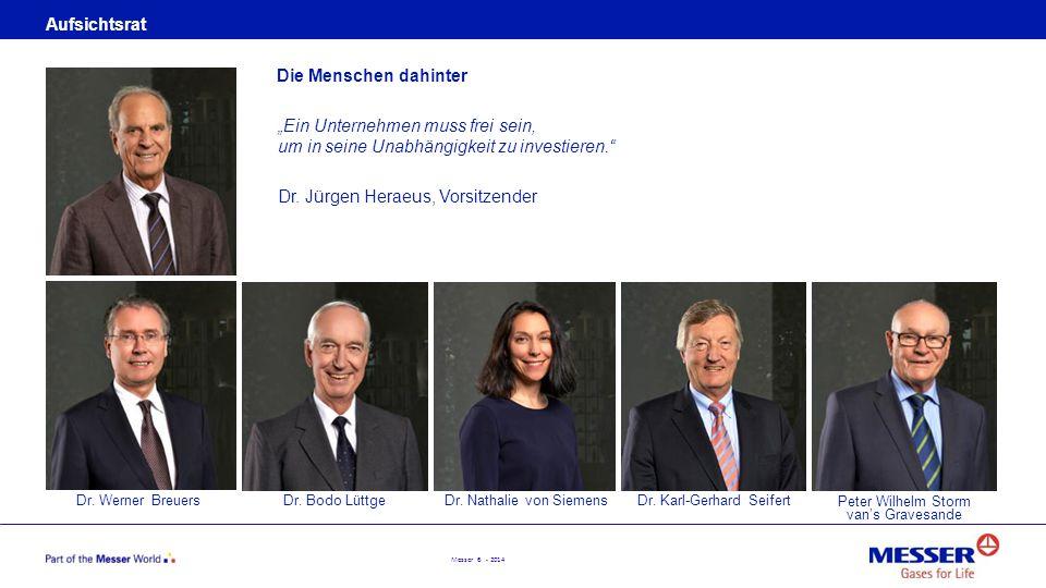 Dr. Jürgen Heraeus, Vorsitzender