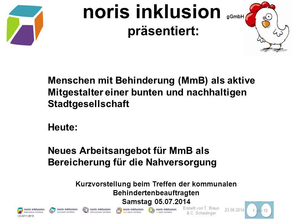 noris inklusion gGmbH; Nürnberg