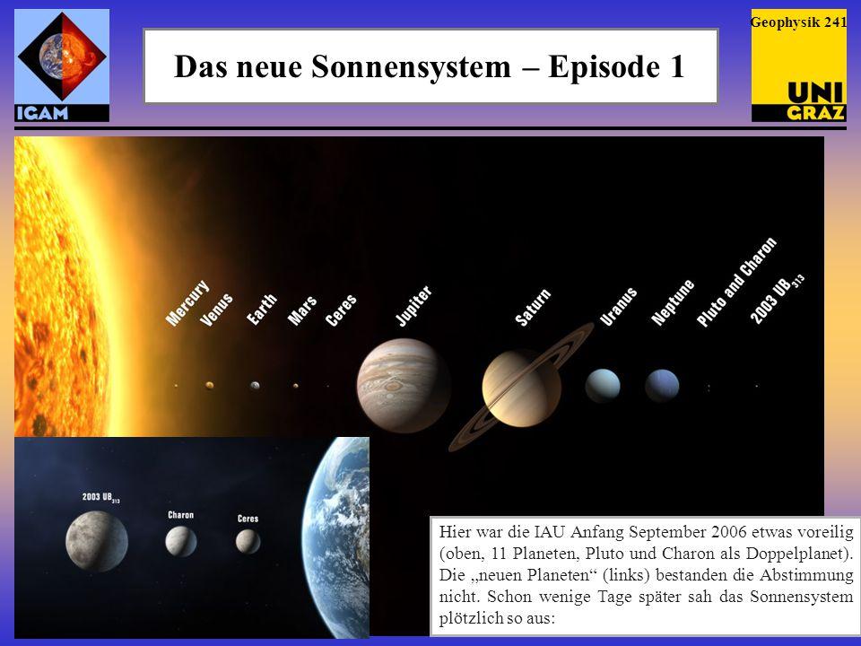 Das neue Sonnensystem – Episode 1