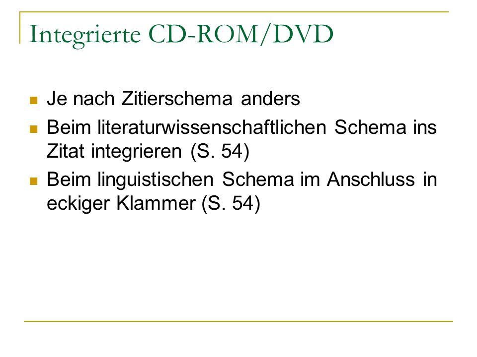 Integrierte CD-ROM/DVD