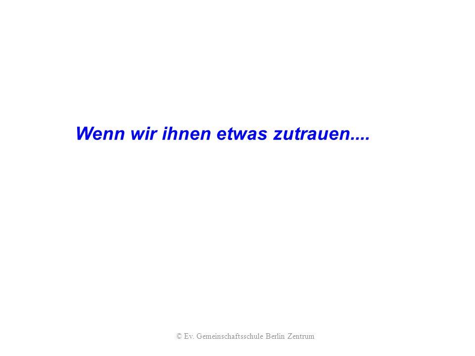 © Ev. Gemeinschaftsschule Berlin Zentrum
