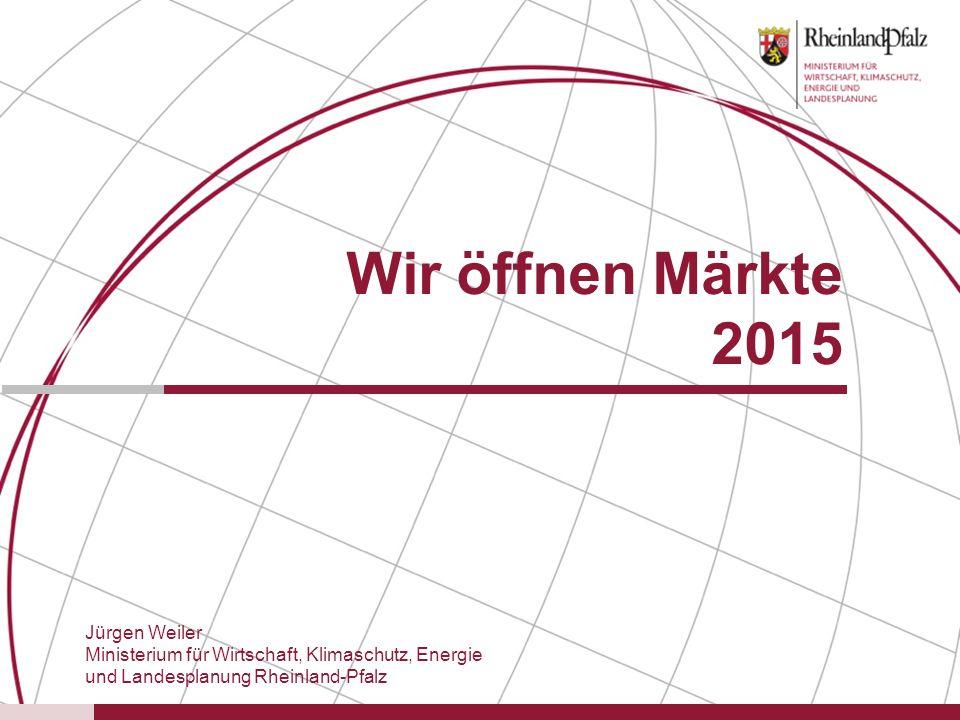 Wir öffnen Märkte 2015 Jürgen Weiler
