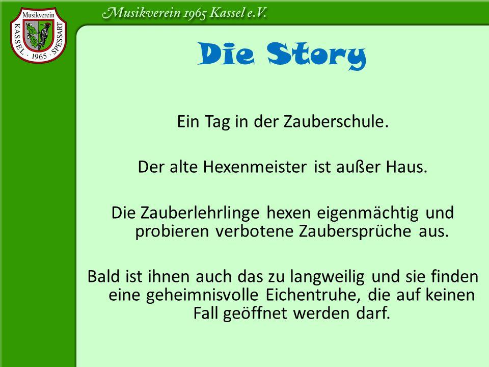 Die Story Ein Tag in der Zauberschule.