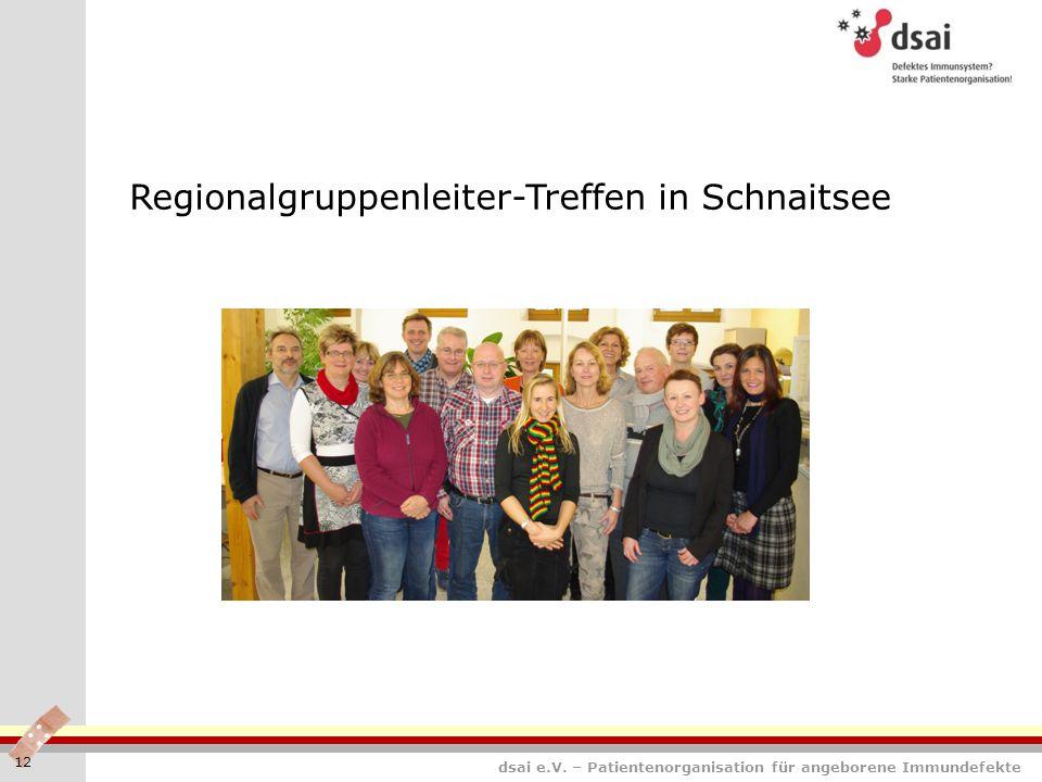 Regionalgruppenleiter-Treffen in Schnaitsee