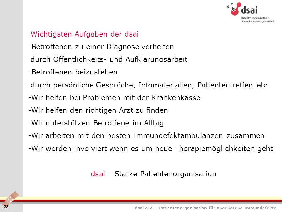 dsai – Starke Patientenorganisation