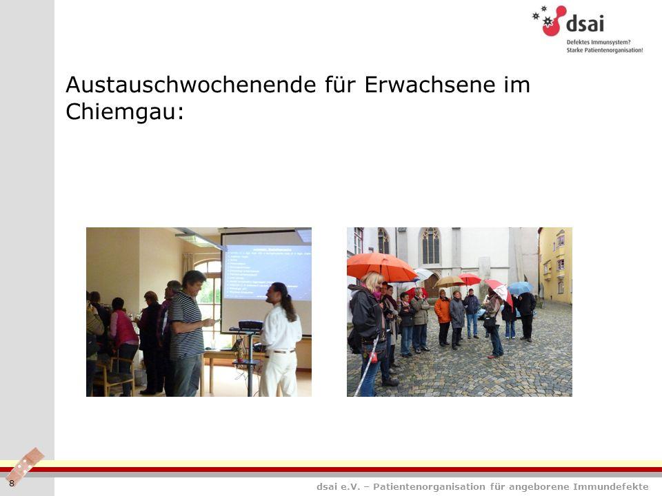Austauschwochenende für Erwachsene im Chiemgau: