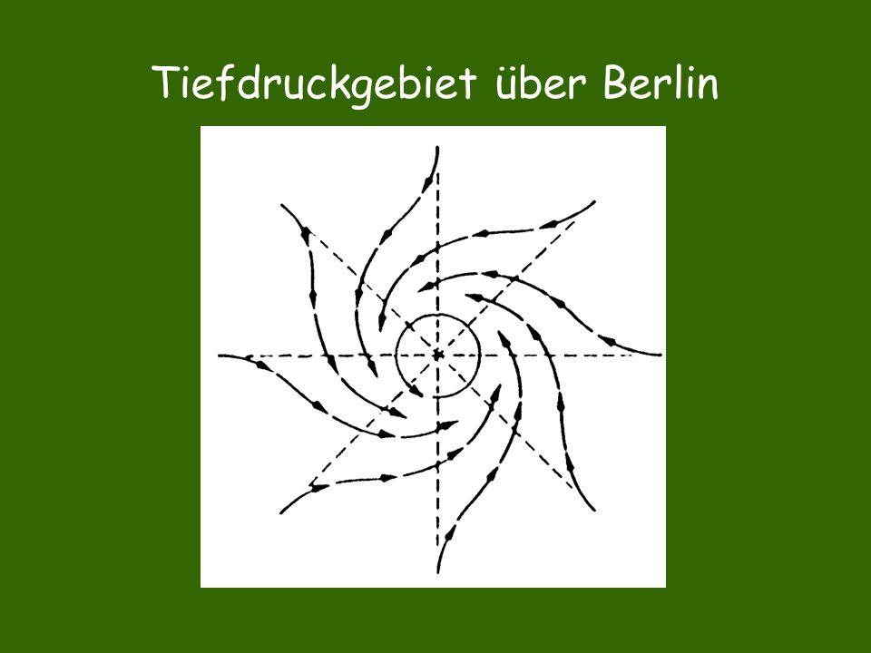 Tiefdruckgebiet über Berlin
