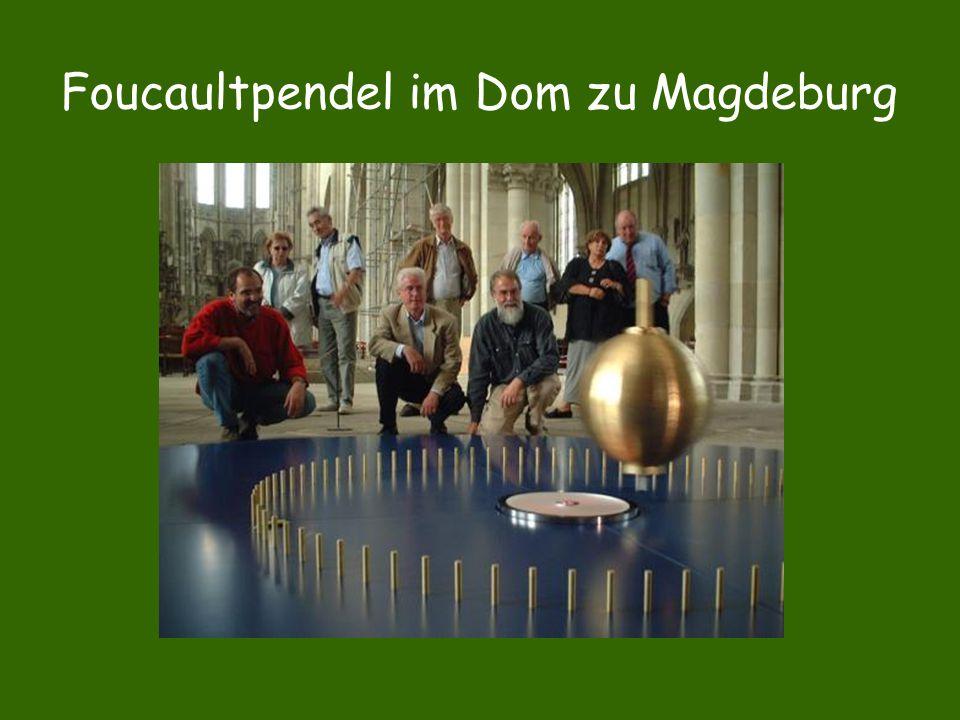 Foucaultpendel im Dom zu Magdeburg