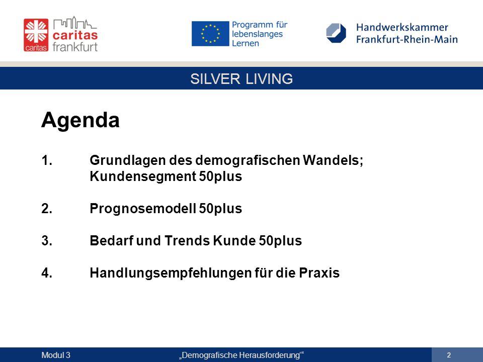 Agenda 1. Grundlagen des demografischen Wandels;
