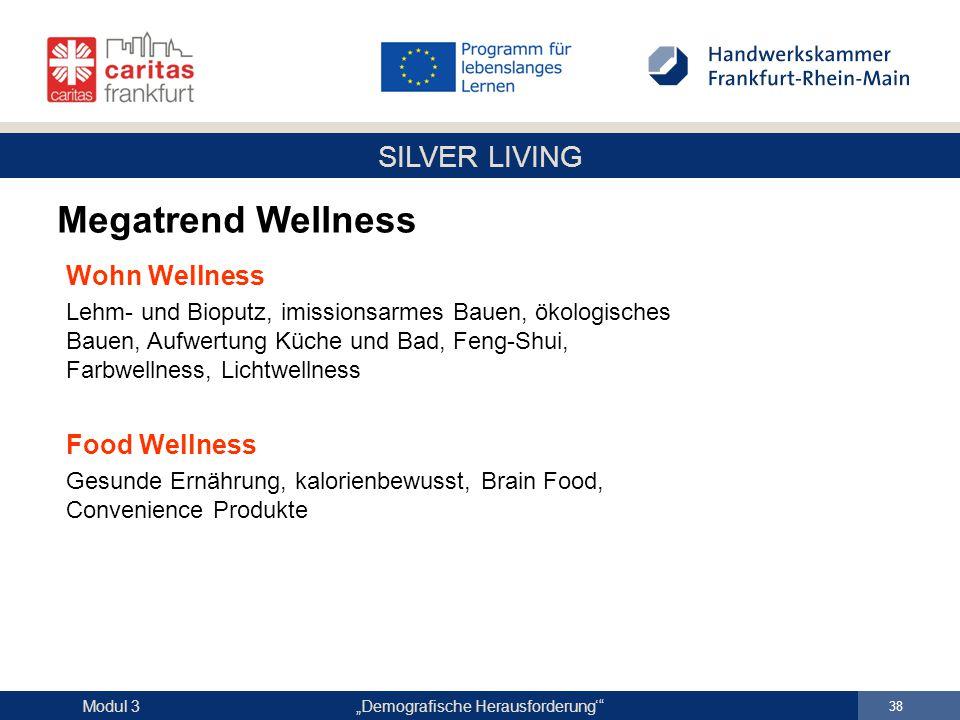 Megatrend Wellness Wohn Wellness Food Wellness