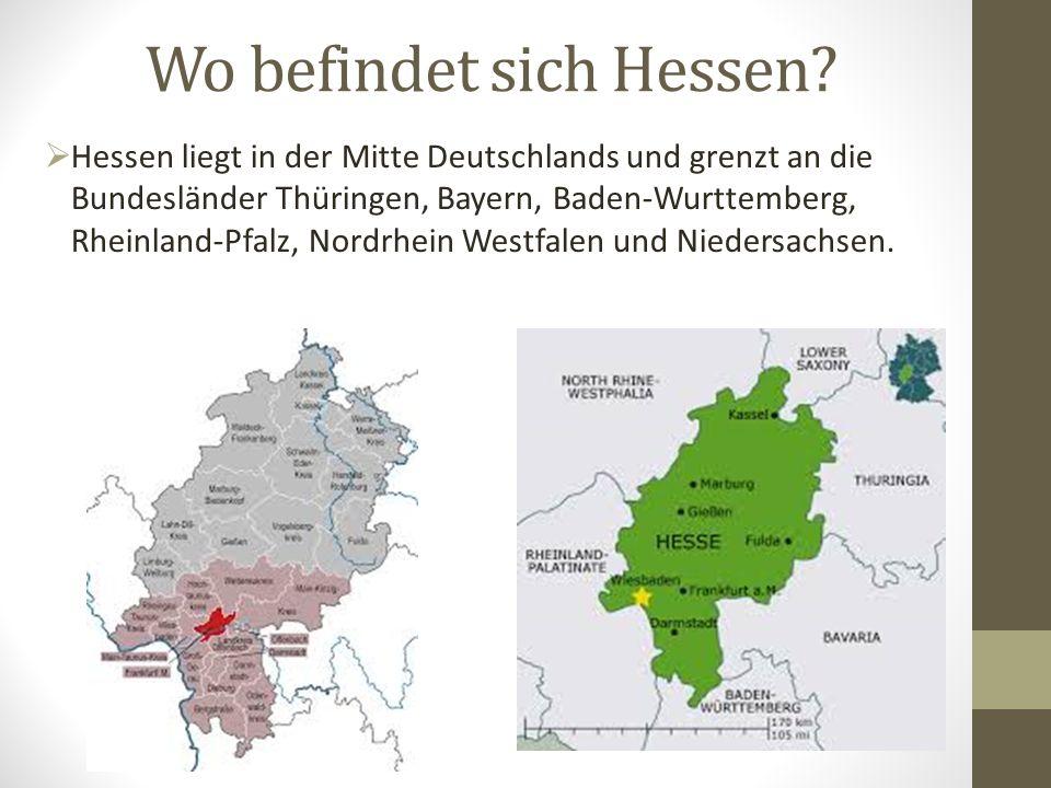 Wo befindet sich Hessen