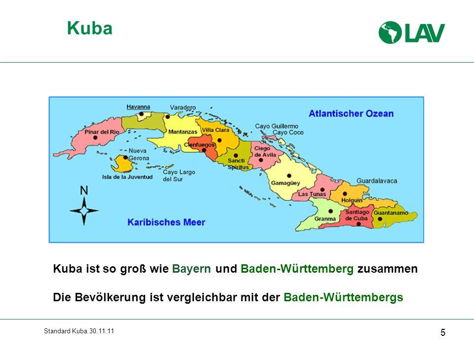 Kuba Gesamte Folie erscheint sofort