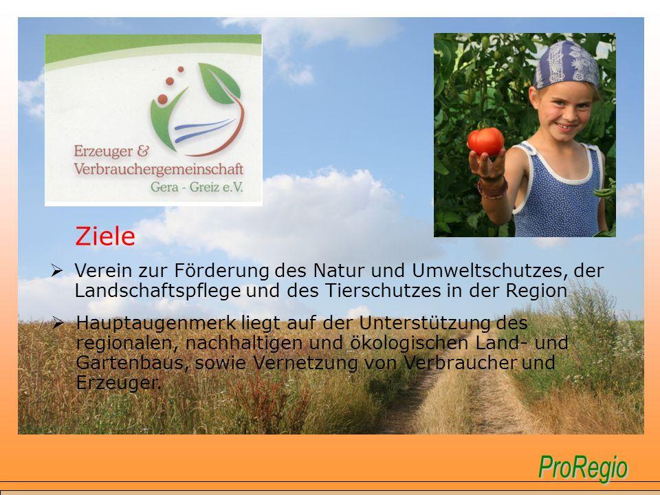 Ziele Verein zur Förderung des Natur und Umweltschutzes, der Landschaftspflege und des Tierschutzes in der Region.