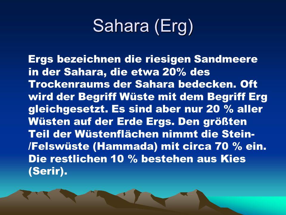 Sahara (Erg)