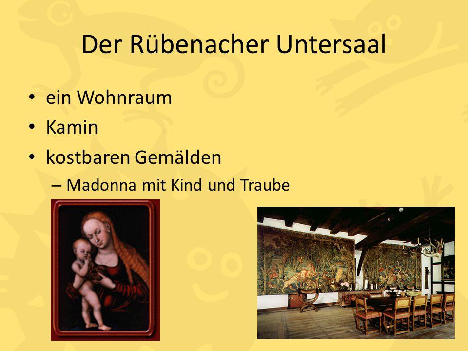 Der Rübenacher Untersaal