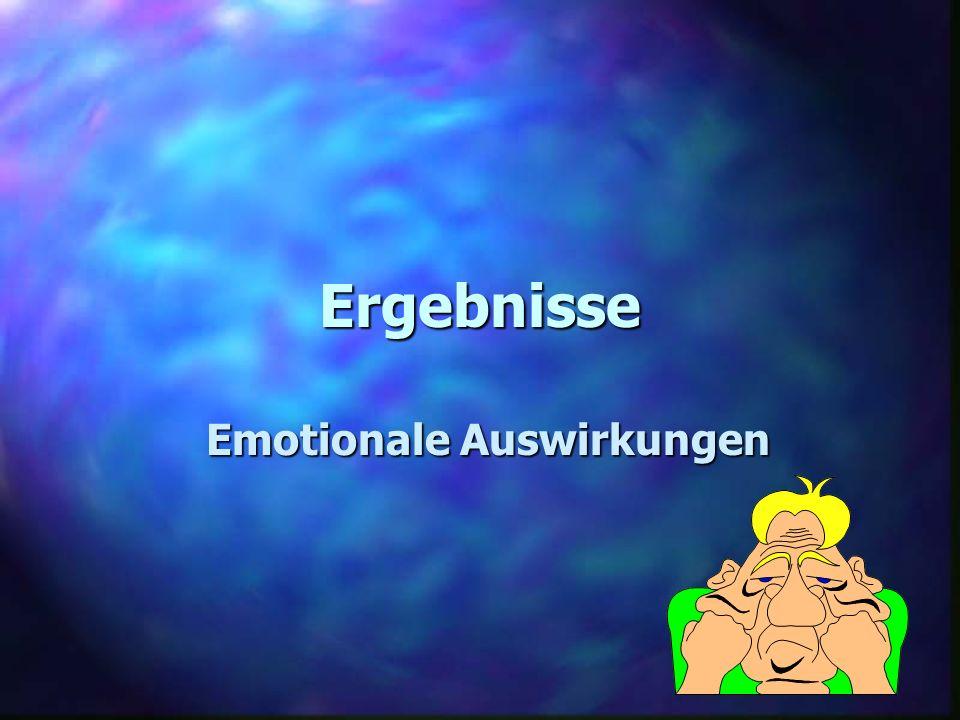 Emotionale Auswirkungen