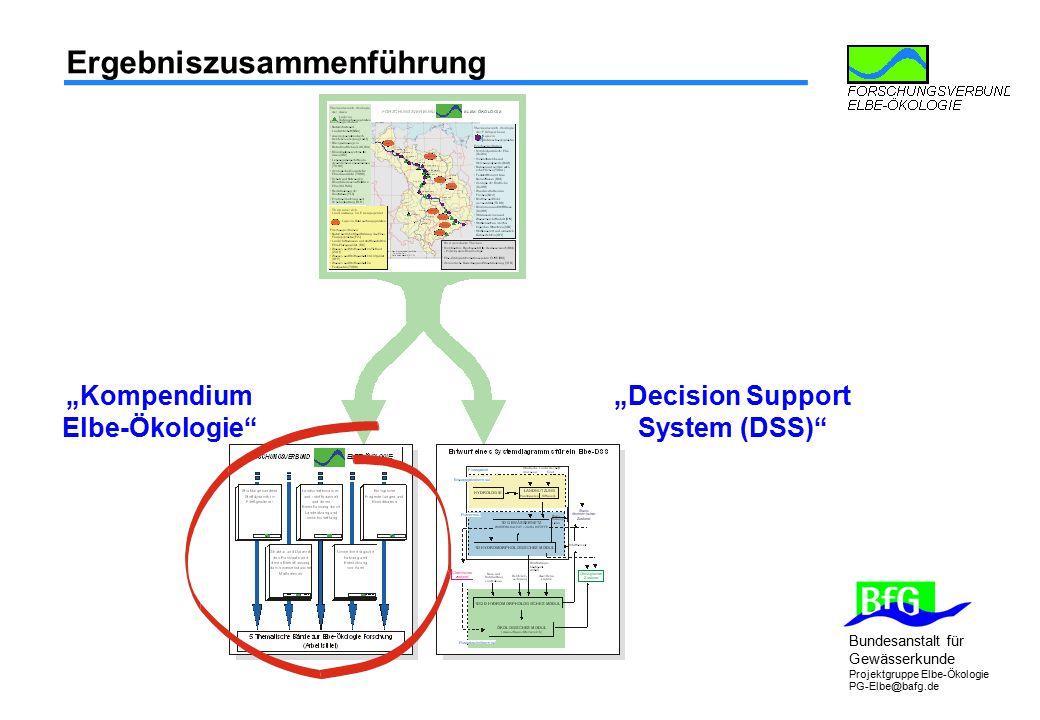 """Kompendium Elbe-Ökologie ""Decision Support System (DSS)"