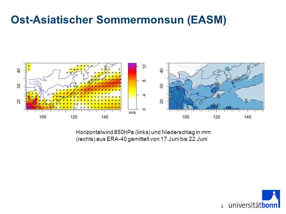Ost-Asiatischer Sommermonsun (EASM)