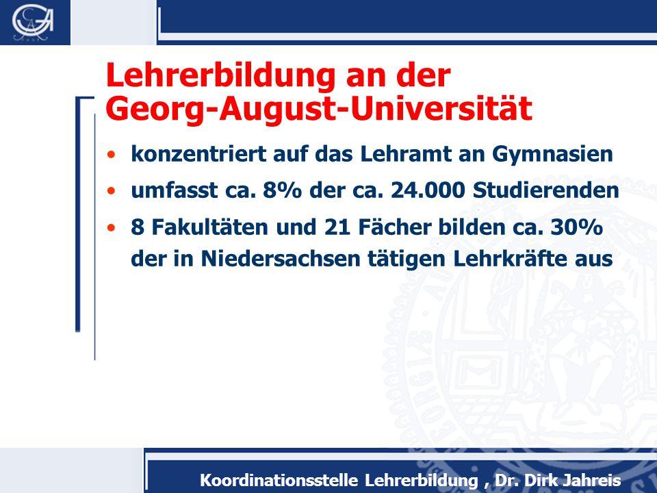 Lehrerbildung an der Georg-August-Universität