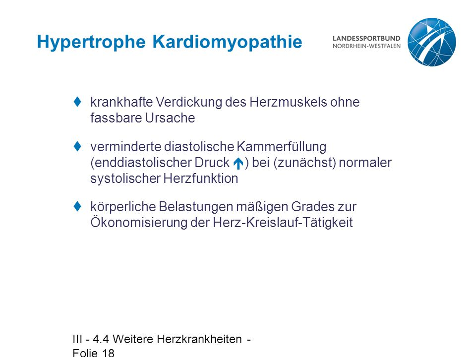 Hypertrophe Kardiomyopathie
