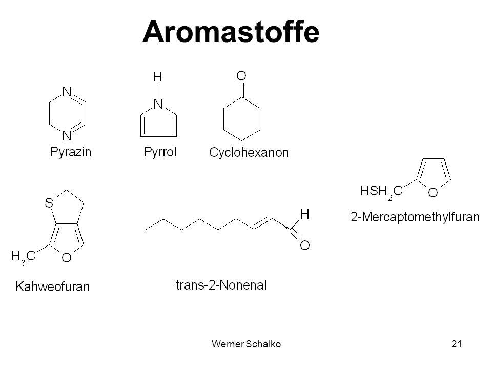 Aromastoffe Werner Schalko