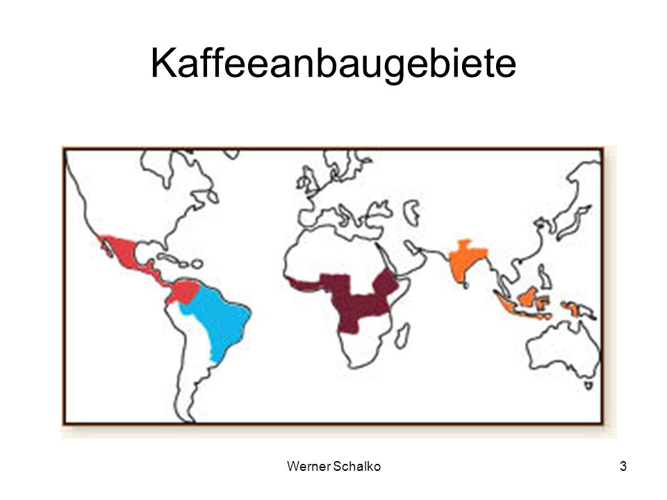 Kaffeeanbaugebiete Werner Schalko