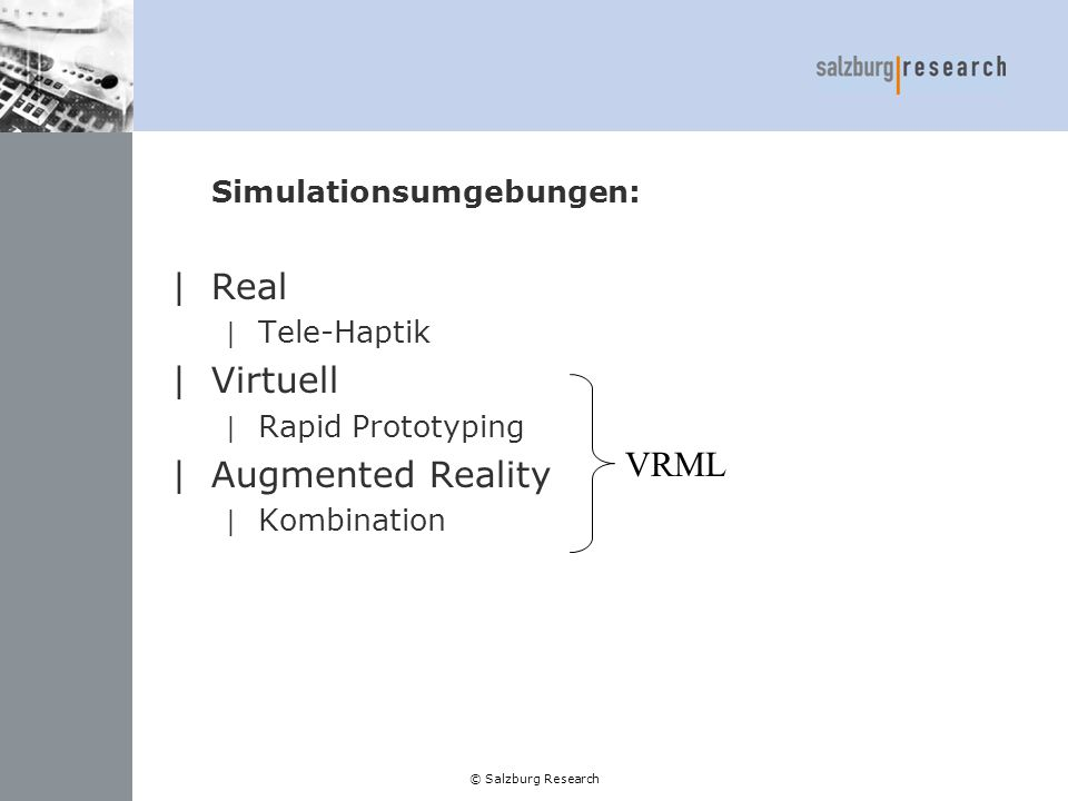 Simulationsumgebungen: