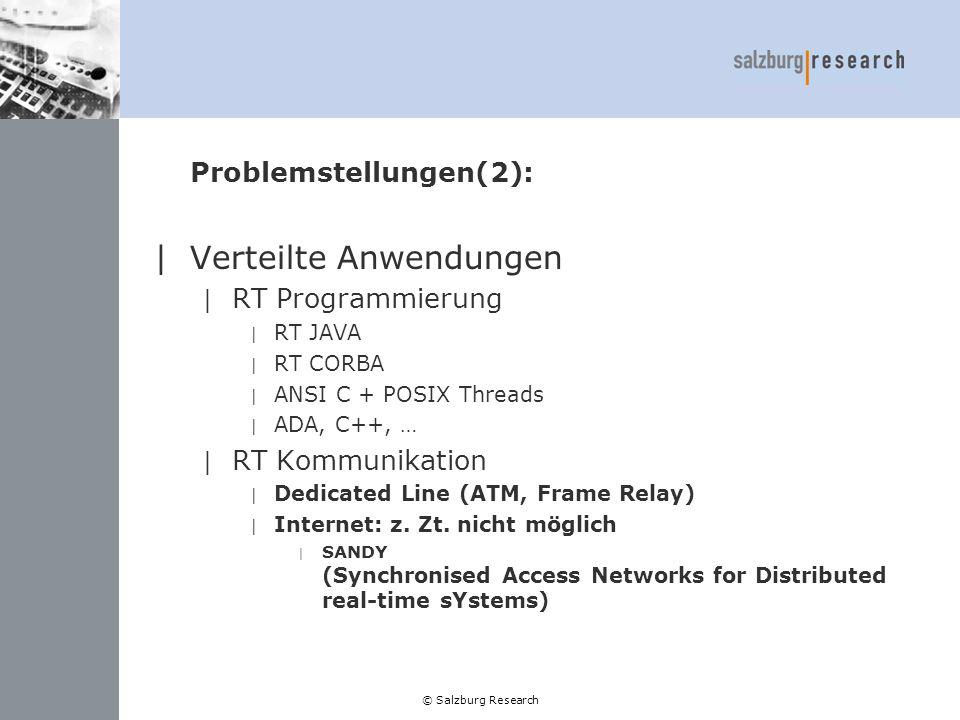 Problemstellungen(2):