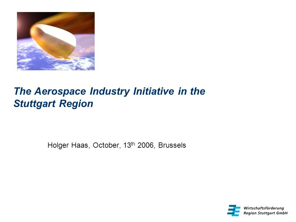 The Aerospace Industry Initiative in the Stuttgart Region