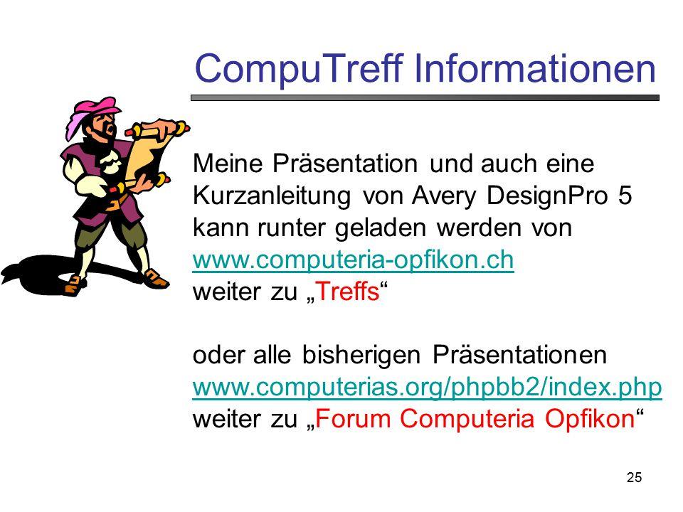 CompuTreff Informationen