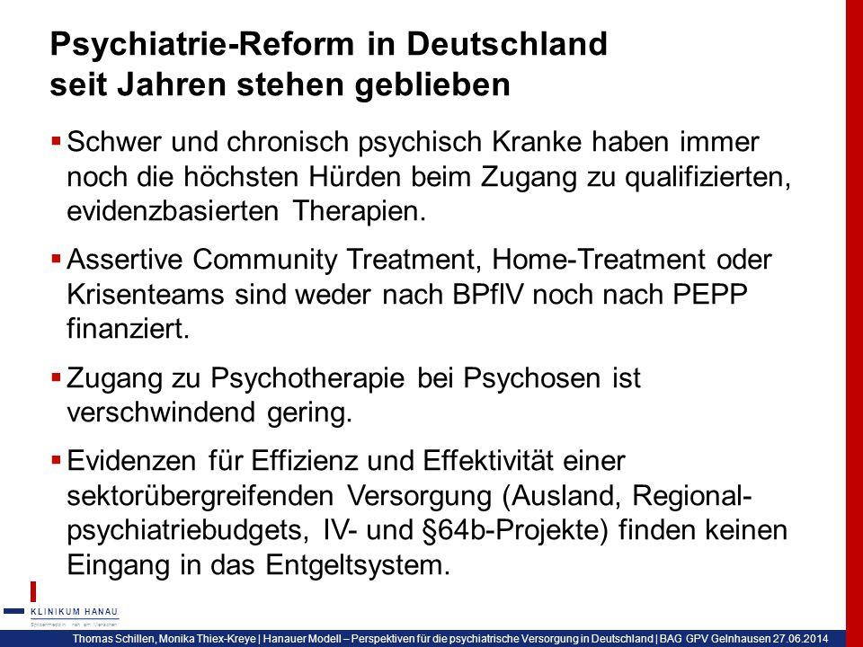 Psychiatrie-Reform in Deutschland seit Jahren stehen geblieben