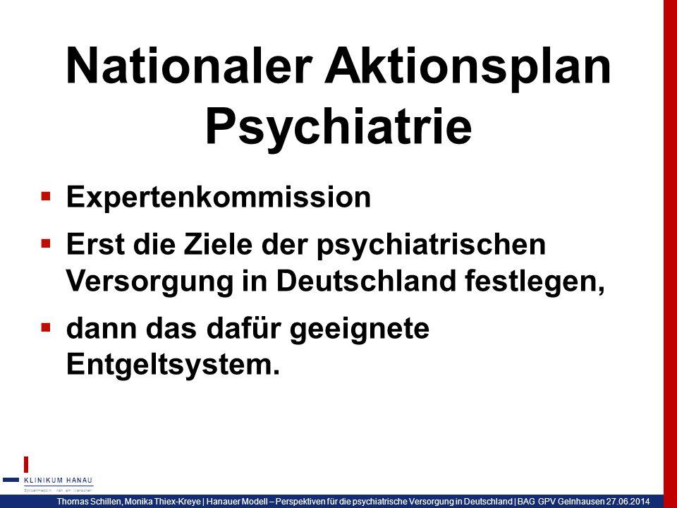 Nationaler Aktionsplan Psychiatrie