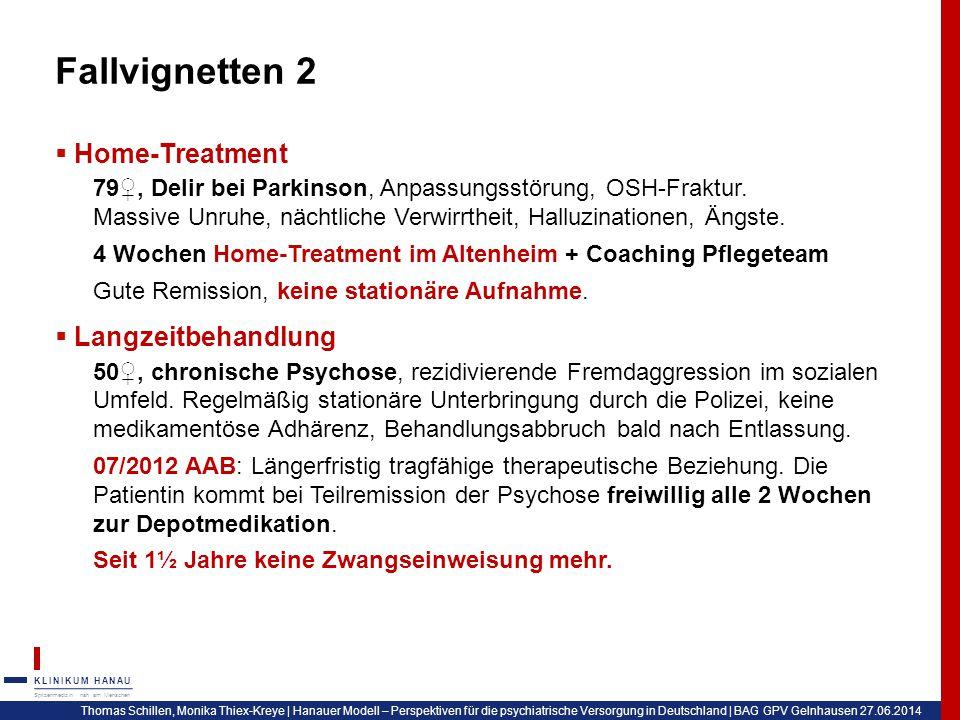 Fallvignetten 2 Home-Treatment Langzeitbehandlung
