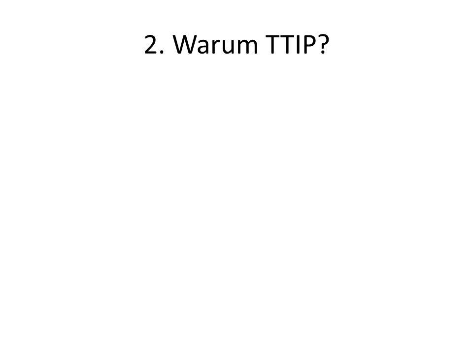 2. Warum TTIP