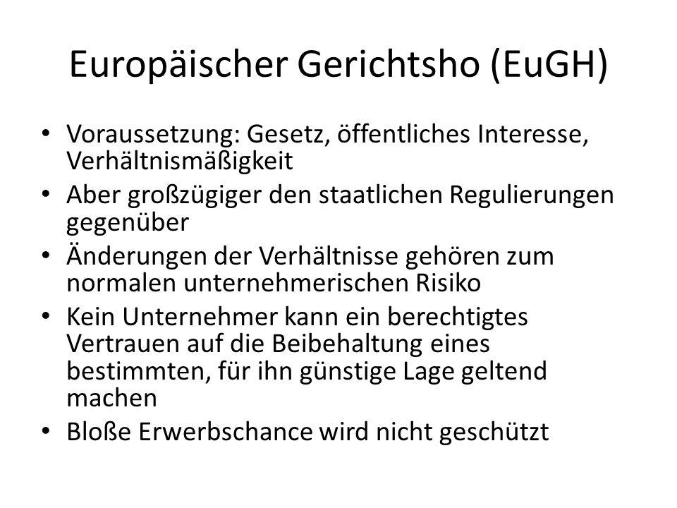 Europäischer Gerichtsho (EuGH)