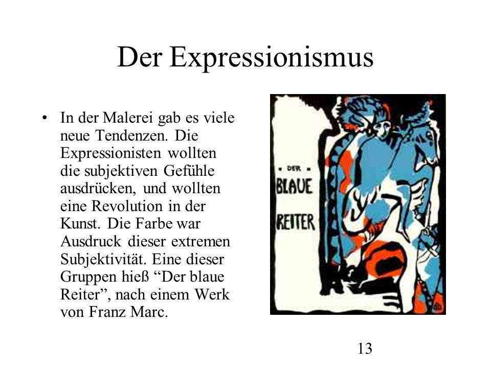 Der Expressionismus