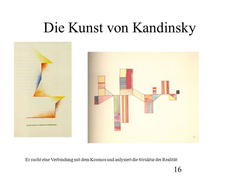 Die Kunst von Kandinsky