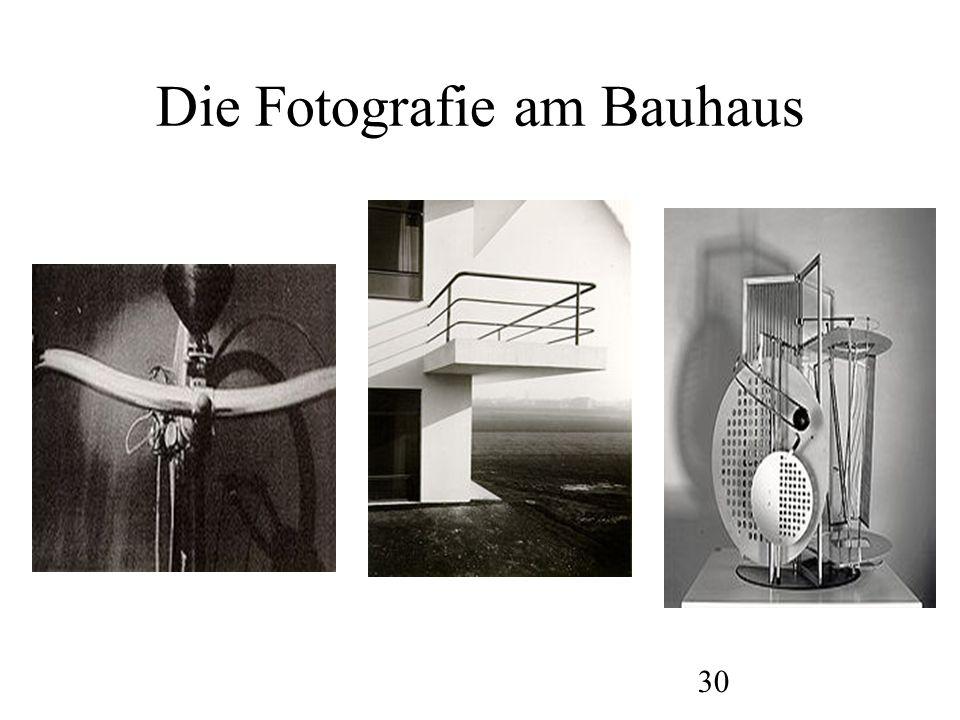 Die Fotografie am Bauhaus