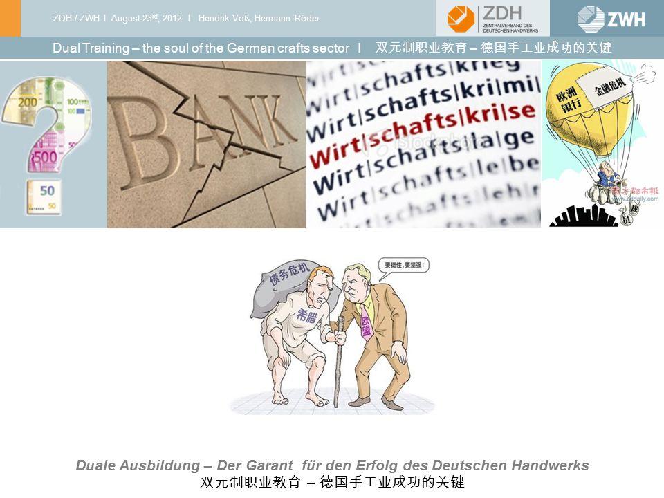 Duale Ausbildung – Der Garant für den Erfolg des Deutschen Handwerks