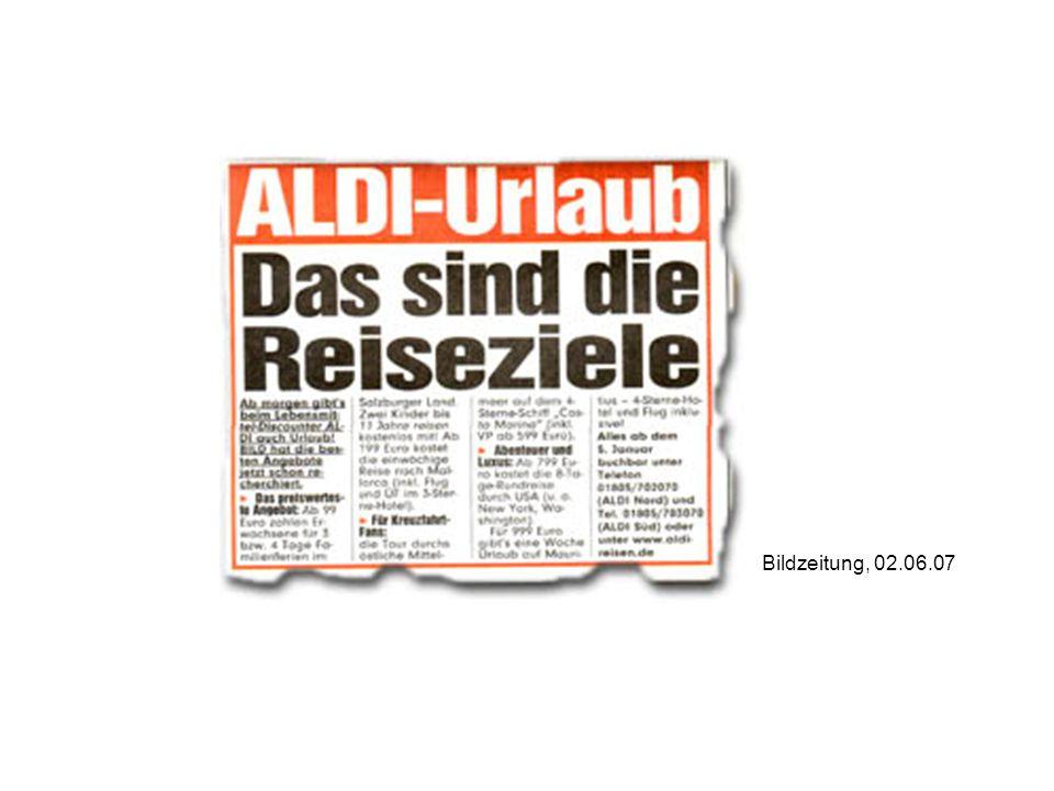 Bildzeitung, 02.06.07