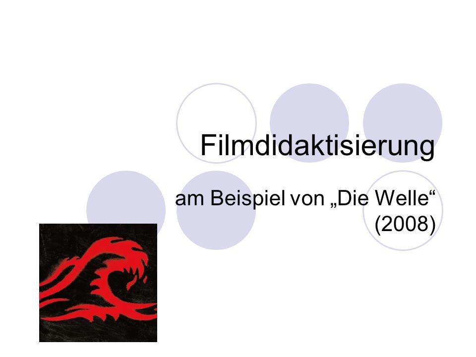 """am Beispiel von """"Die Welle (2008)"""