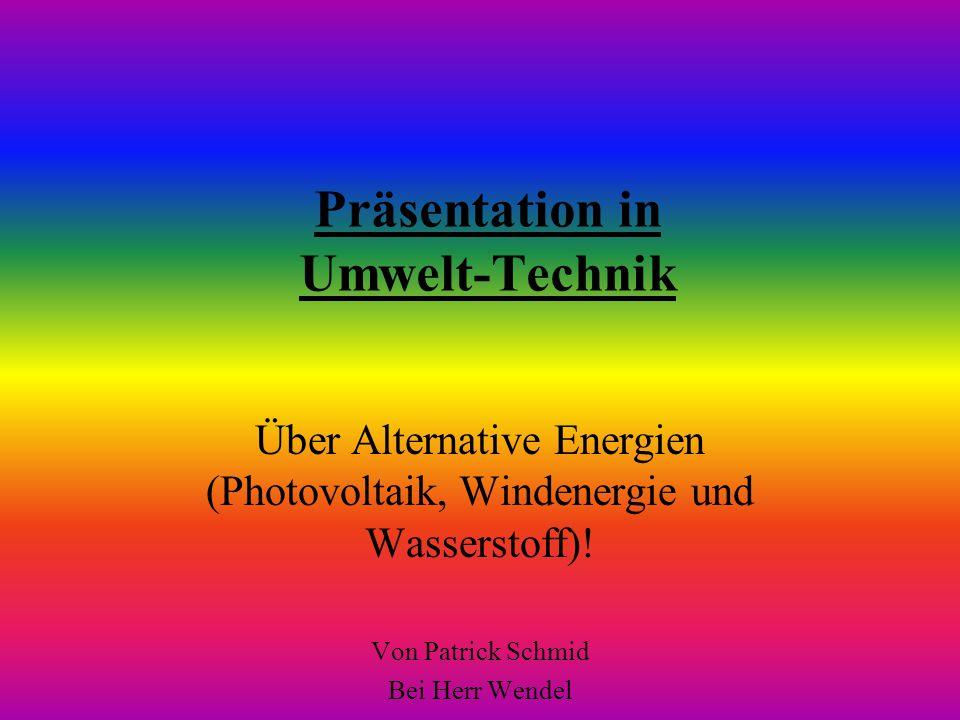 Präsentation in Umwelt-Technik