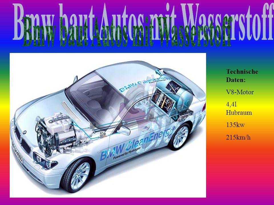 Bmw baut Autos mit Wasserstoff