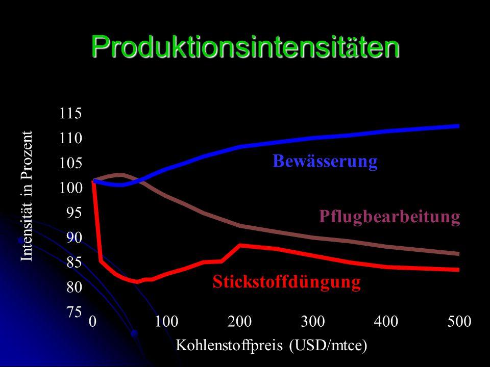 Produktionsintensitäten